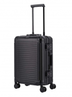 Travelite 'Next' 4-Rad-Bordtrolley S 55cm 3,9kg 39l  Aluminium schwarz