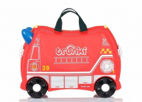 Trunki 'Fire Engine Frank' Ride-on suitcase Kindertrolley