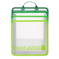 Coocazoo 'CheckBag' Faltbare Heftbox transparent grün