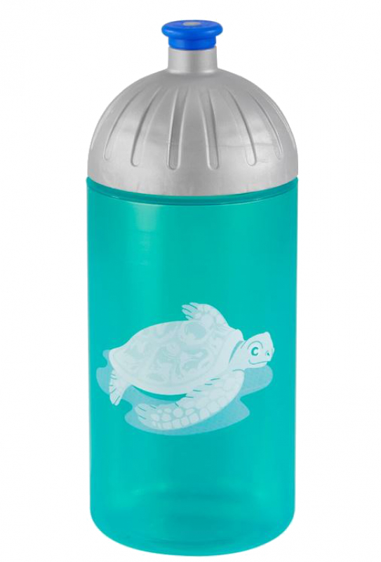 Step by Step 'Happy Turtle' Trinkflasche 0,5l