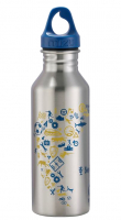 Step by Step 'Blue & Yellow' Edelstahl Trinkflasche 0,5l