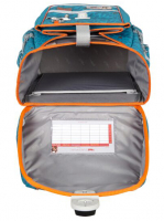 McNeill 'Orange' Schulrucksackset 4tlg. Ergo Complete 1150g 20l türkis/orange