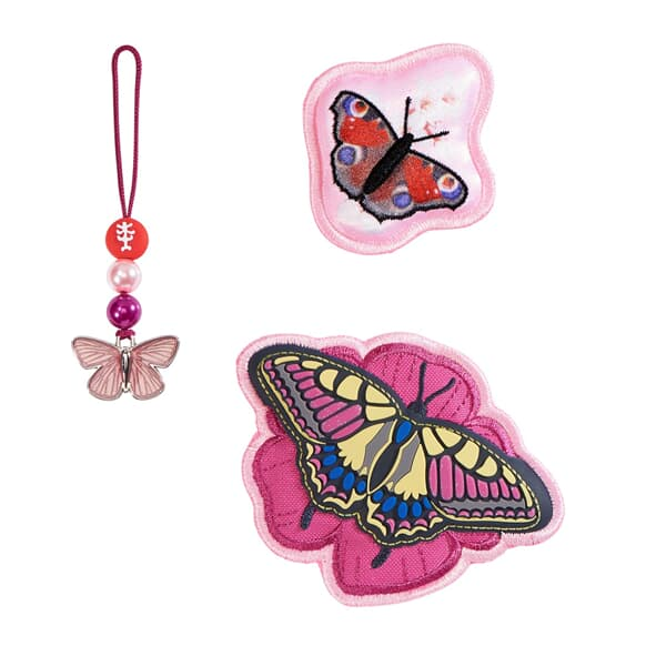 Step by Step 'Magic Mags' Wechselmotive Natural Butterfly