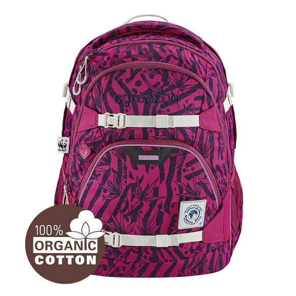 Coocazoo 'ScaleRale' Schulrucksack Limited Edition 1,2kg 30l WWF Anemone-Trail