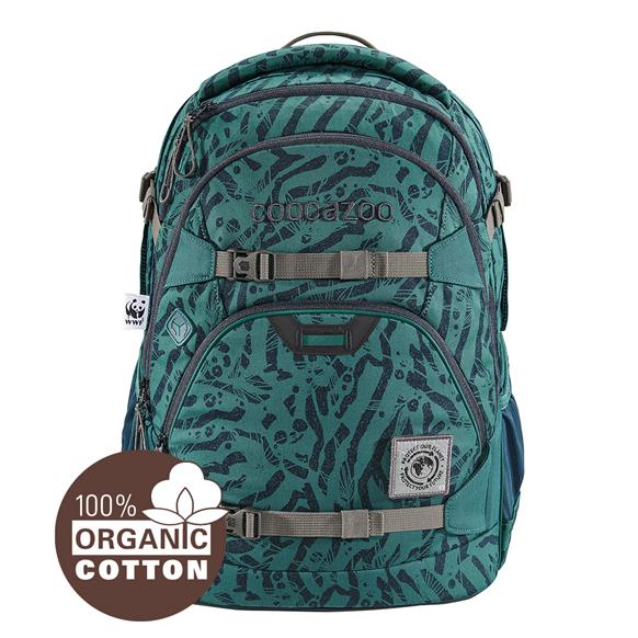 Coocazoo 'ScaleRale' Schulrucksack Limited Edition 1,2kg 30l WWF Pine-Track