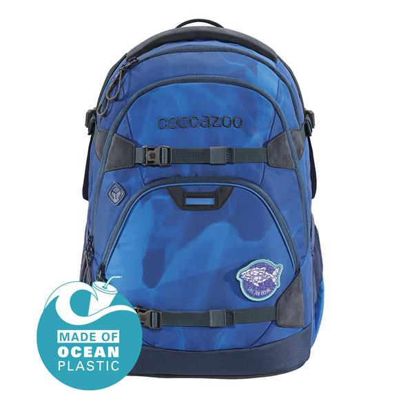 Coocazoo 'ScaleRale' Schulrucksack Limited Edition 1,2kg 30l Ocean Emotion Blue Bay