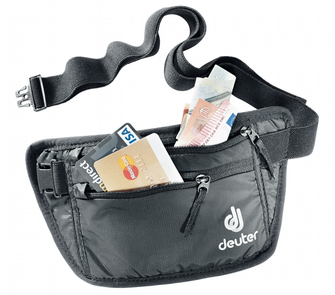 Deuter 'Security Money Belt I' Bauchtasche black