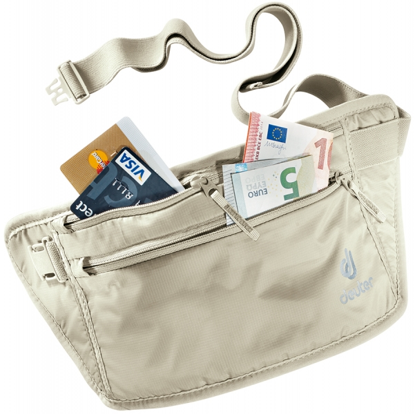 Deuter 'Security Money Belt II' Bauchtasche sand