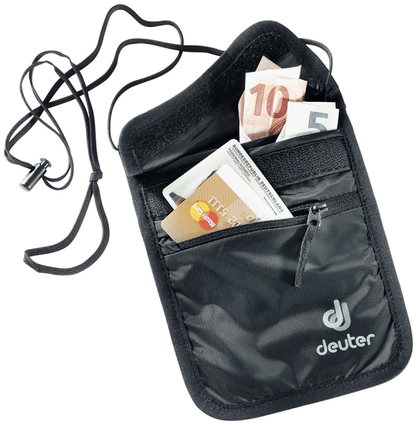 Deuter 'Security Wallet II' Brustbeutel black