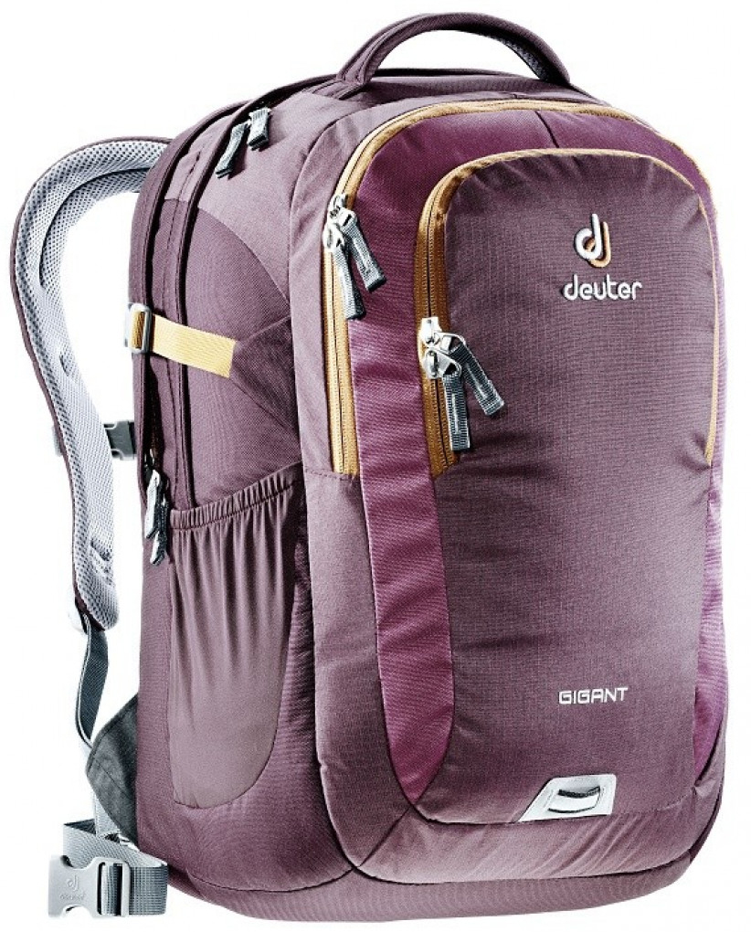 Deuter 'Gigant' Laptoprucksack 17,3 32l 1030g Super-Polytex aubergine-lion