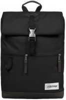 Eastpak 'Macnee' Roll-up Rucksack 24l Softboden into mono black
